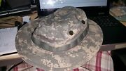 New Never Issued Test C Rare 7 5/8 Acu Digital Boonie Cap Hat Army Hot Weather