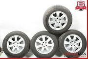 06-11 Mercedes W164 Ml350 Complete Front And Rear Wheel Tire Rim Set R17 Oem