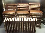 Collection Of 93 Louis L'amour Leatherette Books Nice