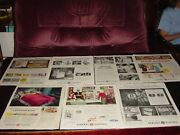 General Electric Colossal 560 Pages Vintage Print Ads 7lbs 1931-1967 Added More