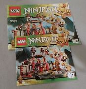 Lego Ninjago Instruction Manual Only 70505 Temple Of Light Bks. 1 And 2