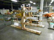 Cantilevered Storage Rack Pipe And Long Stock 6 Ft Tall Extremely Heavy Duty