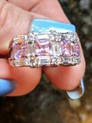 New Lenox Pink And White Ring - Size 10