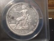 1874 Cc Trade Dollar - Anacs Certified Au 58 A True Slider