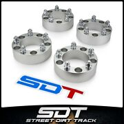 4p 2 Inch 5-lug Wheel Spacer For 94-01 Dodge Ram 1500 66-96 Ford F-150 Bronco
