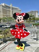 Minnie Mouse Mascots Cosplay Costumes Disney Party