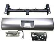Silverado 1500 99-06 Stepside Hidden Hitch And Roll Pan Kit/ Light And Flip Down