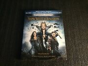 Snow White And The Huntsman Blu-ray Disc + Dvd + Slipcover + Artwork + Case