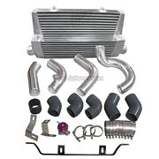 Intercooler + Piping Kit For 98-05 Lexus Is300 2jz-gte Single Top Mount Turbo