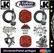 Jeep Wrangler Jk 44 30 Re-gear Ring Pinion Yukon Red Covers Master 4.88 Grizzly