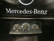 Mercedes W123 280e 280ce 280te Instrument Cluster Speedometer Rpm 6 Cylinder