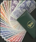 A Green Leatherbound Colour Chart,untitled, But With A Gold De La Rue Logo