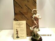 Guiseppe Armani Elise 1999 Figurine Of The Year Plus Certificate Made In Italy