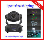 90w Led Moving Head Wash Stage Effect Party Dj Home Lighting 4pcs Free Shipping