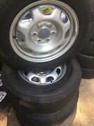4 Ford 10-17 F150 Expedition Oem Steel Wheel Rims Michelin Ltx 245/70r17 Tires
