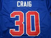 Jim Craig Of The Team Usa Signed Autographed Hockey Jersey Paas Co Hockey Jersey