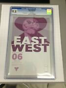 East Of West 6 1st Print Cgc 9.8 In Development By