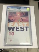 East Of West 10 1st Print Cgc 9.8 In Development By