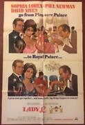 Lady L - Set Of 2 Original 1965 One Sheet Posters - Style A And B Rare