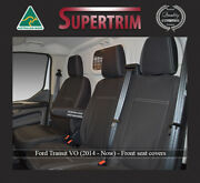 Front Bucket And Bench + Rear Ford Transit Waterproof Neoprene Car Seat Covers