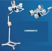 Brand New Classic Operation Theater Light Led Surgical Light 4 Reflector 140000@