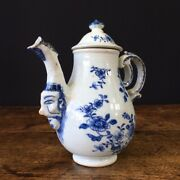 Chinese Export Ewer With Mask After A Meissen Original C.1745