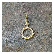 24k Pure Gold Rosary Pendant P3 By Estherleejewel