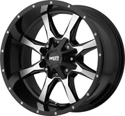 20x10 Moto Metal Mo970 35 Fuel At Wheel And Tire Package 5x5.5 Dodge Ram 1500