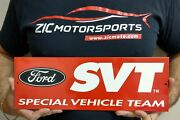 Ford Svt Special Vehicle Team Garage Metal Sign Wall Art 15 X 5