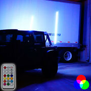 Led Whip Color Changing Rgb Wireless Atv Fits Jeep Off Road Lights 5ft 2 Types