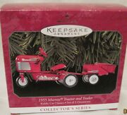 1998 Hallmark - 1955 Murray Tractor And Trailer 5th In Kiddie Cars - Mint In Box