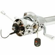 33 Chrome Steering Column Automatic With Built In Ignition Switch