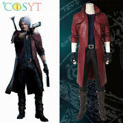 Dante Cosplay Costumes Devil May Cry Halloween Outfits Full Set