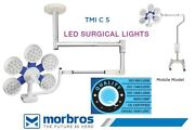 Ceiling Mobile Shadowless Examination Surgical Operation Theater Light 1.3 Lux