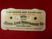 Aetna Life Insurance Game Counter