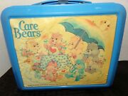 Vintage Aladdin Care Bears Lunch Box With Thermos Ships Free