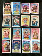 1985, 86 And 87 Topps Garbage Pail Kids Card Collection Good/decent Condition