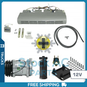 New Air Conditioning Kit For Truck Bus And Light Vehicles - 12v With Hoses