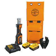 Klein Tools Bat207t44h Battery-operated Cable Cutter Acsr 4 Ah