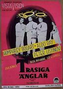 Weand039re No Angels - 1956 Swedish 1sh - Funny Image Of Humphrey Bogart With Halo