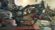 1987 Honda Shadow Vt 1100 Vt1100 Motorcycle Frame Straight Chassis