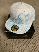 Iron Man 3 All Over Sketch New Era 59 Fitted Hat 7 1/2 With Box Extremely Rare