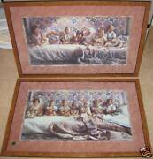Steve Hanks Two Framed Art Prints All Gone Awry And All In A Row Both Are 1838