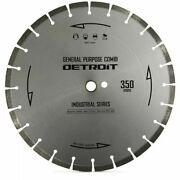 Detroit Segmented Diamond Blade For General Purpose Cutting-350mm400mm Or 450mm