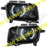 Oracle Halo 2x Headlights Chevrolet Camaro Rs 10-13 White Led And Projector Hid