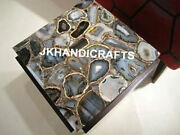 29 Marble Coffee Corner Table Top Natural Agate Luxury Led Table Bedroom Decor
