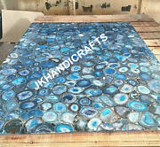 36x24 Marble Side Table Counter Top Rare Gemstone Inlay Christmas Decor