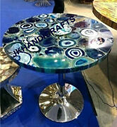 29 Marble Coffee Table Top Luxury Gemstones Led Table Top Living Room Decor