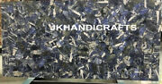 60x36 Marble Dining Table Top Counter Top Gemstone Inlay Indoor Outdoor Decor