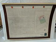 Historical 1853 Land Deed Bordering Dartmouth Park London Wax Seals Authentic